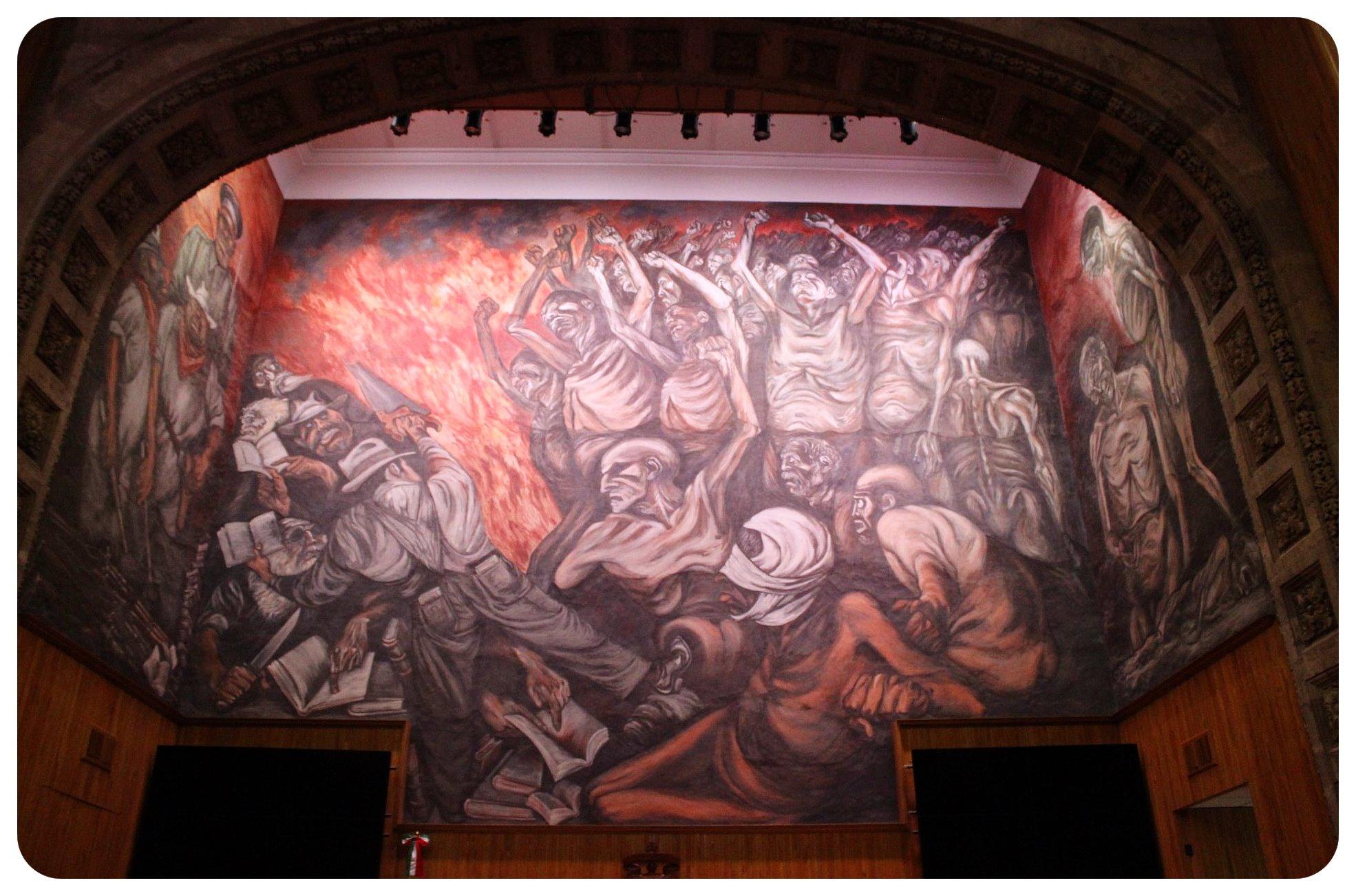 guadalajara orozco mural musa