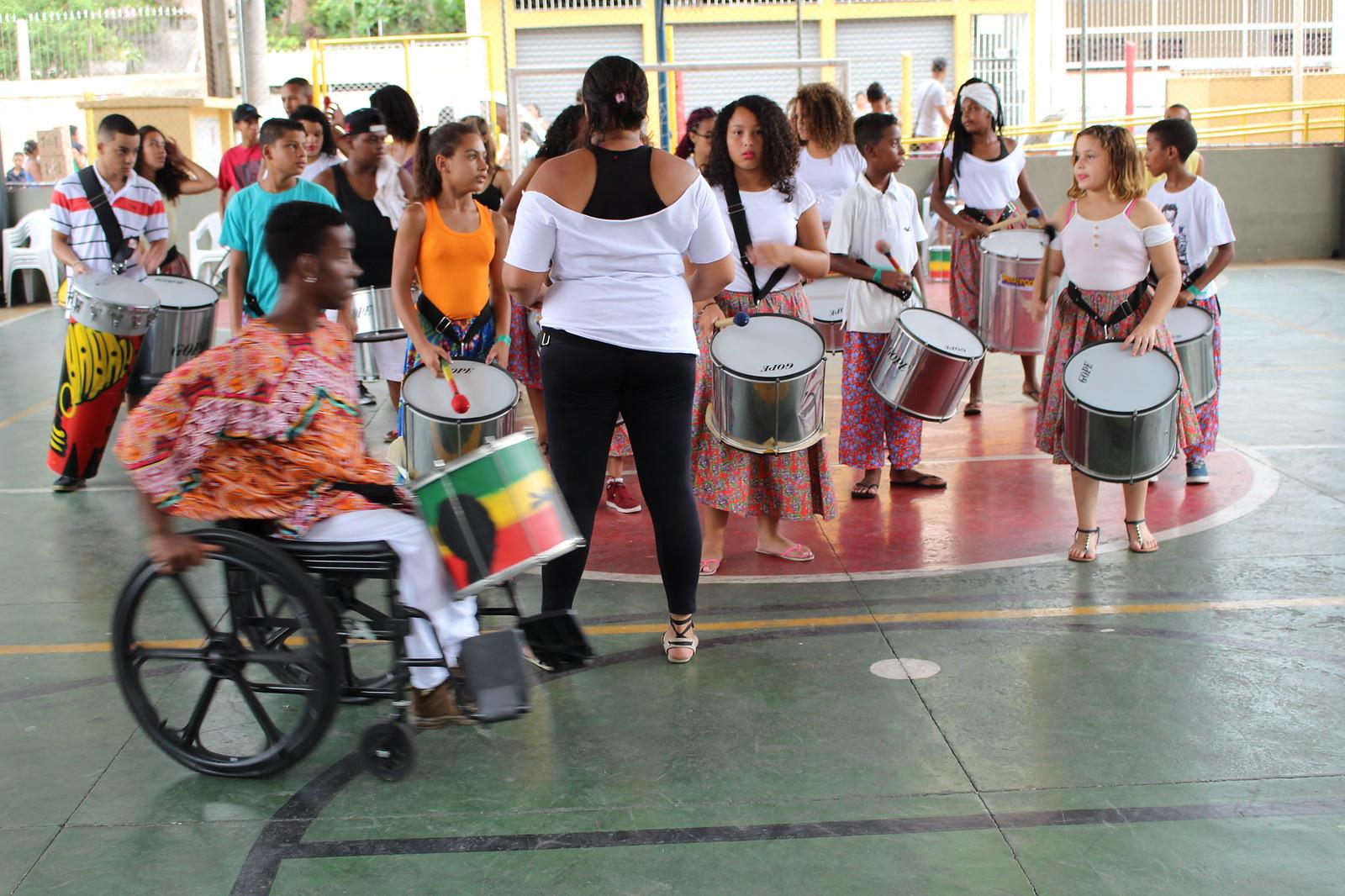 Bloco da Lona - Carnaval 2017 - Circo Escola Grajaú