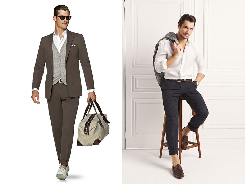 Cómo vestir cuando mido 1,90 o más | Blog de moda masculina
