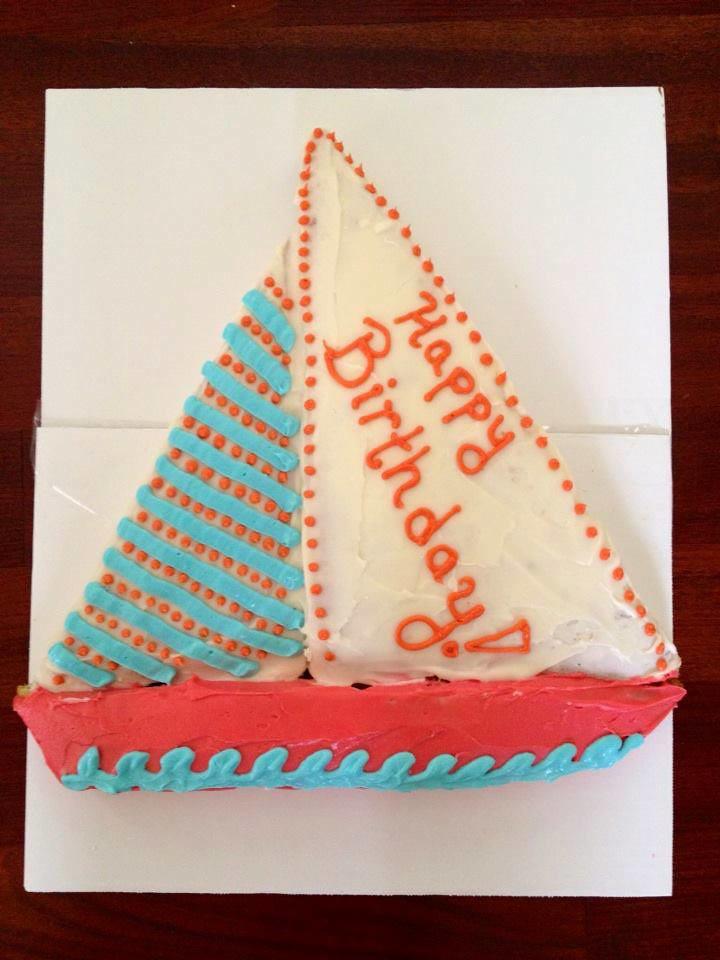 Sailboat Cake Charleston Sc Birthdaycakes4free Flickr