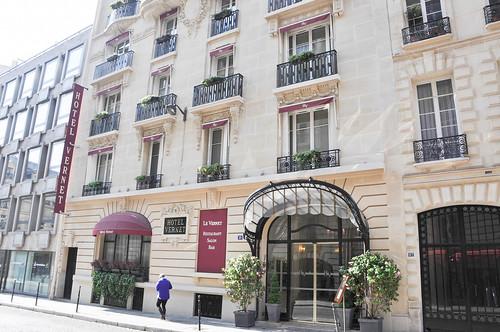 hotel vernet paris vista exterior pablo monteagudo. Black Bedroom Furniture Sets. Home Design Ideas