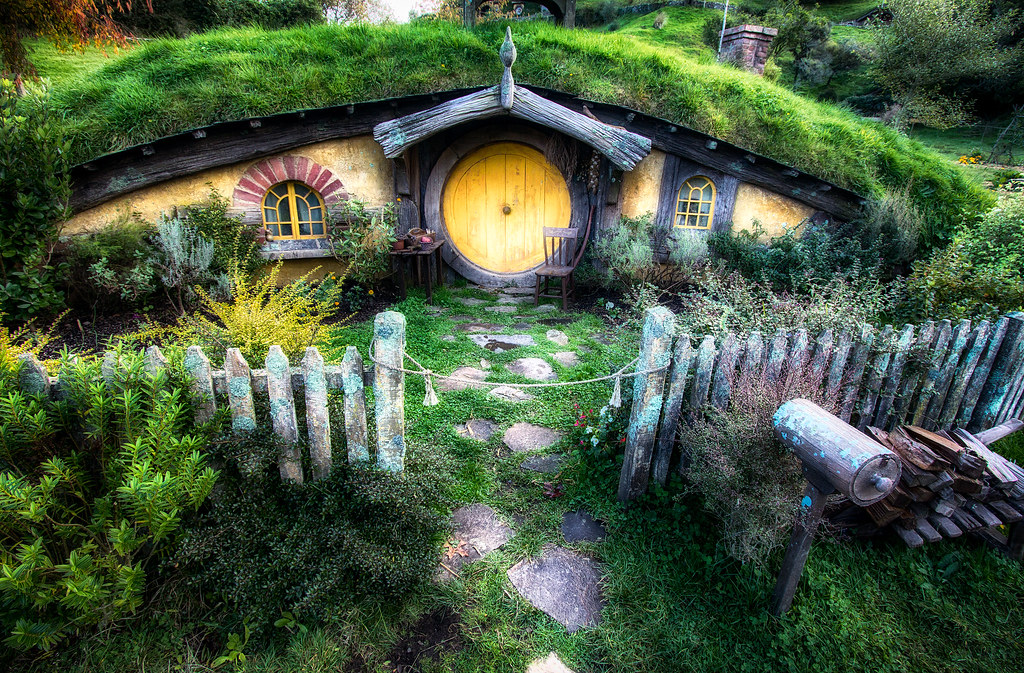 hobbit house from lord of the rings by michael matti by michael matti - Lord Of The Rings Hobbit Home