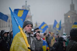 A protester at Euromaidan | by mac_ivan