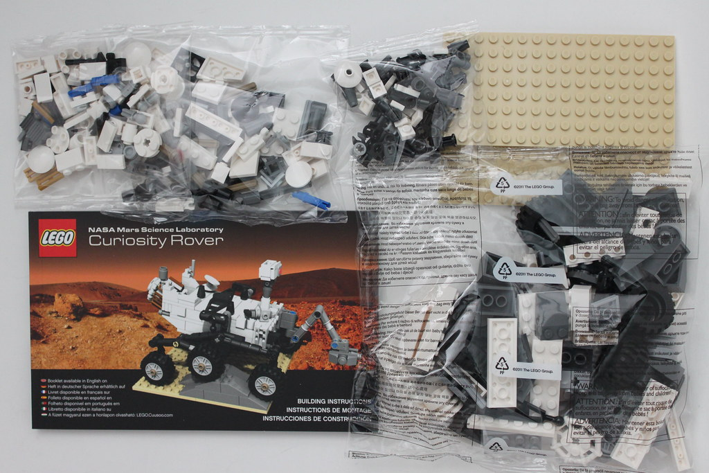 Lego Cuusoo Mars Science Laboratory Curiosity Rover 21104 Flickr