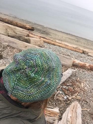 Rikke hat in Malabrigo Rios