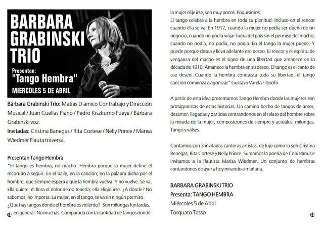 Revista Punto Tango 125 de Marzo 2017 - 10