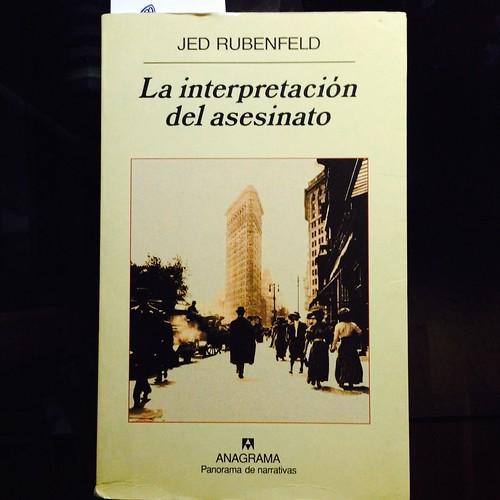 La interpretación del asesinato, Jed Rubenfeld, NYC. Nueva York