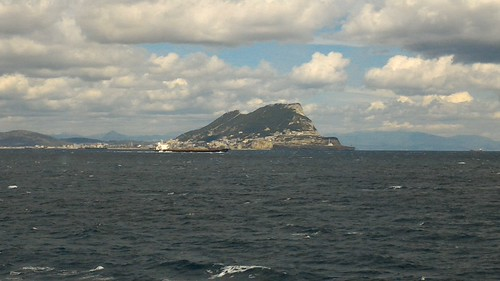 On the Ferry from Ceuta to Algeciras, Spain