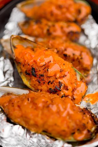 Fire Mussel, Ikko Sushi