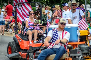 Cant have a parade without mowers | by Jason Bo