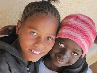 Young Girls at the ELCRN hostel in Otjimbingwe | by World Bank Photo Collection