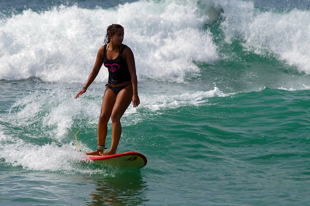 roxy surf girl by david b just passed the million views