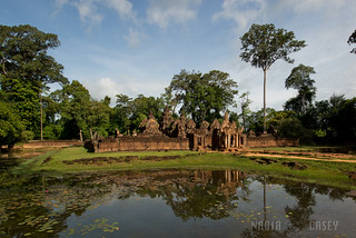 Banteay Srei Reflection | by www.caseyhphoto.com