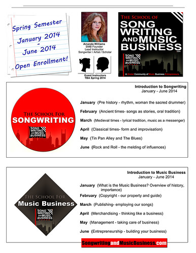 songwriting and music business