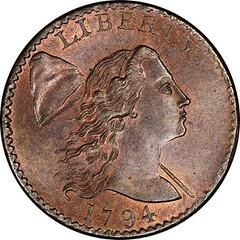 Helfenstein 1794 Sheldon-26 Large Cent obverse