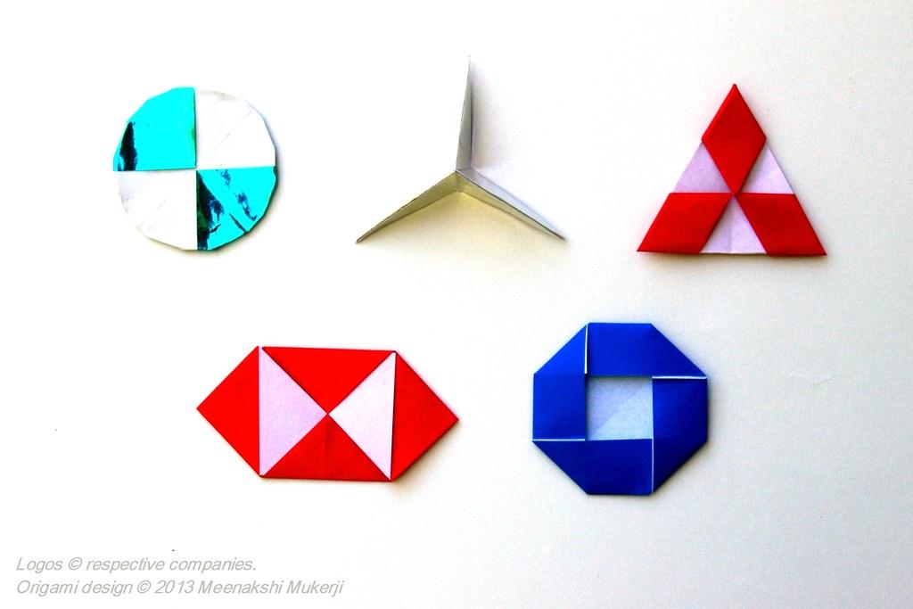 Company Logos In Pureland Origami