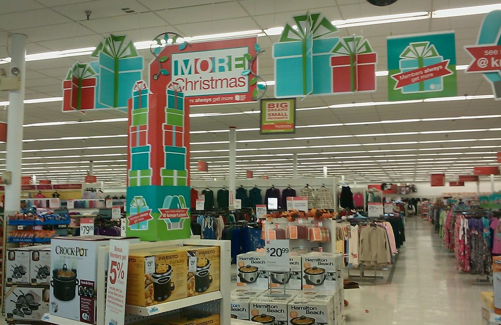 More Christmas at Kmart | This was the scene just inside the… | Flickr