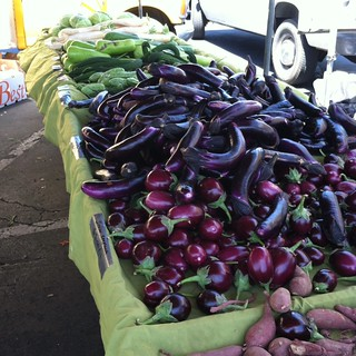 Eggplant @ Daly City Farmers' Market at Serramonte Center | by queenkv
