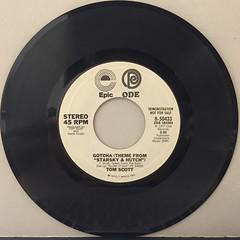 TOM SCOTT:GOTCHA(RECORD SIDE-A)