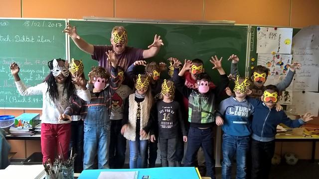 Bilingualer Basteltag 2017