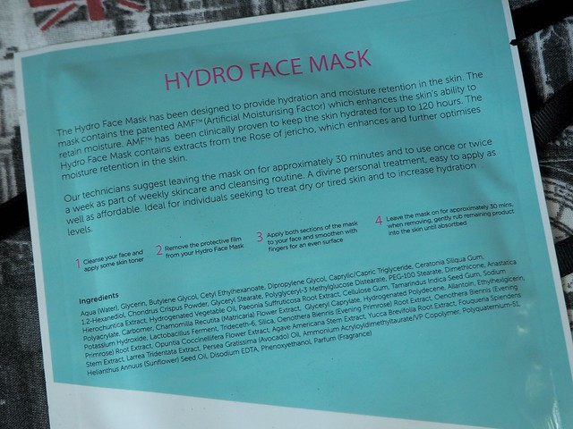 Vitamasques Hydro Face Mask2