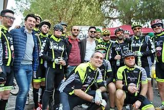 "Noicattaro. Raduno ciclistico ""Pedala Papà"" front"