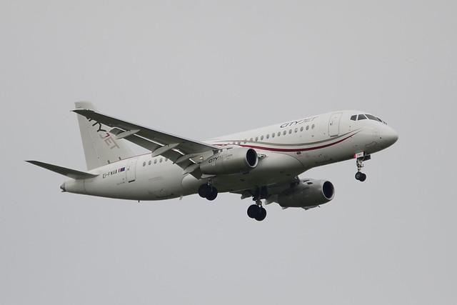 EI-FWA Sukhoi Superjet 100-95B