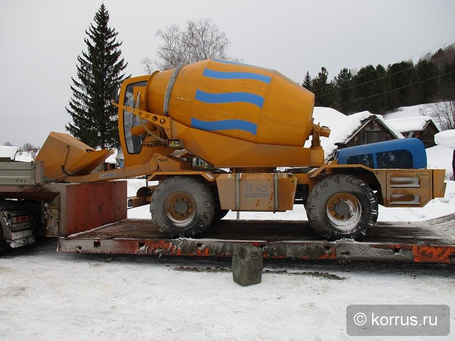 автобетоносмеситель с самозагрузкой Davino R40 в Красноярске