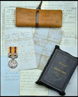 Charles Robson Zulu medal items