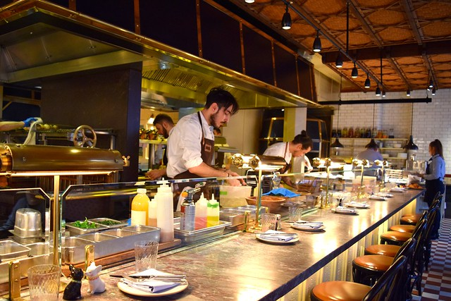 Open Kitchen at The Chiltern Firehouse, Marylebone | www.rachelphipps.com @rachelphipps