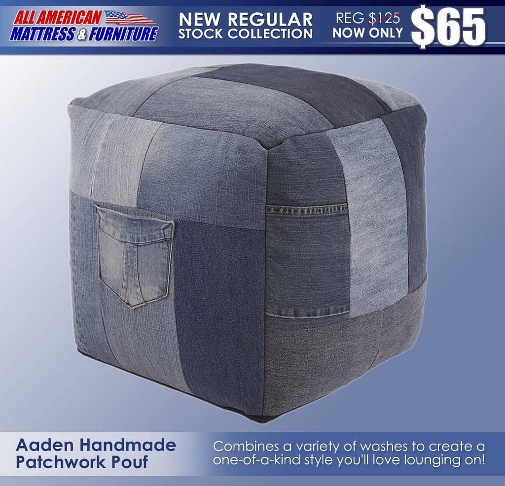 Aaden Handmade Pouf A1000549-SW
