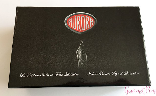 Review Aurora 88 Matte Black Fountain Pen @KenroPens @AndersonPens 1