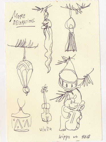 Sketchbook #102: Christmas Time Ornaments