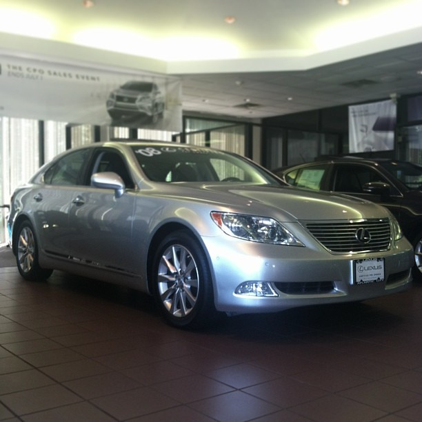 ... This Pre Owned 2008 #Lexus LS 460 Is So Nice We Have It On