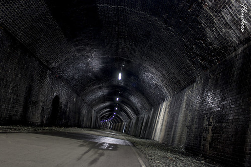 Chee Tor Tunnel - Millers Dale - Derbyshire.