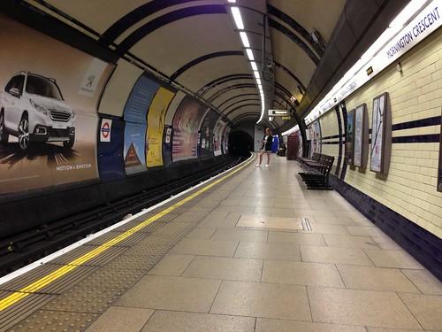 Mornington Crescent Station...