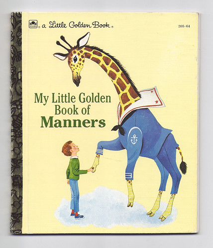 Little Golden Book Baby Shower Cake