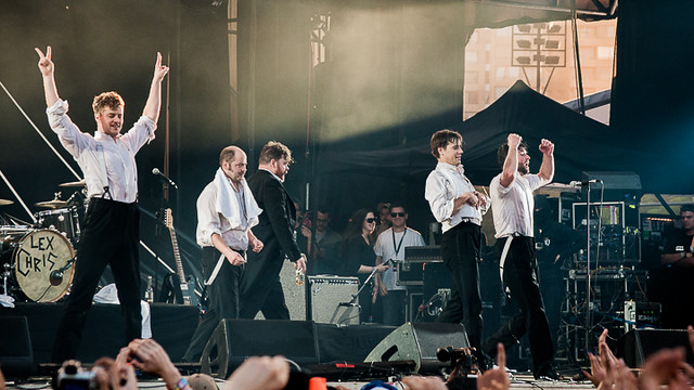 The Hives - Lollapalooza Chile 2013
