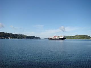 004 Ochtend in Oban met veerboot naar Mull