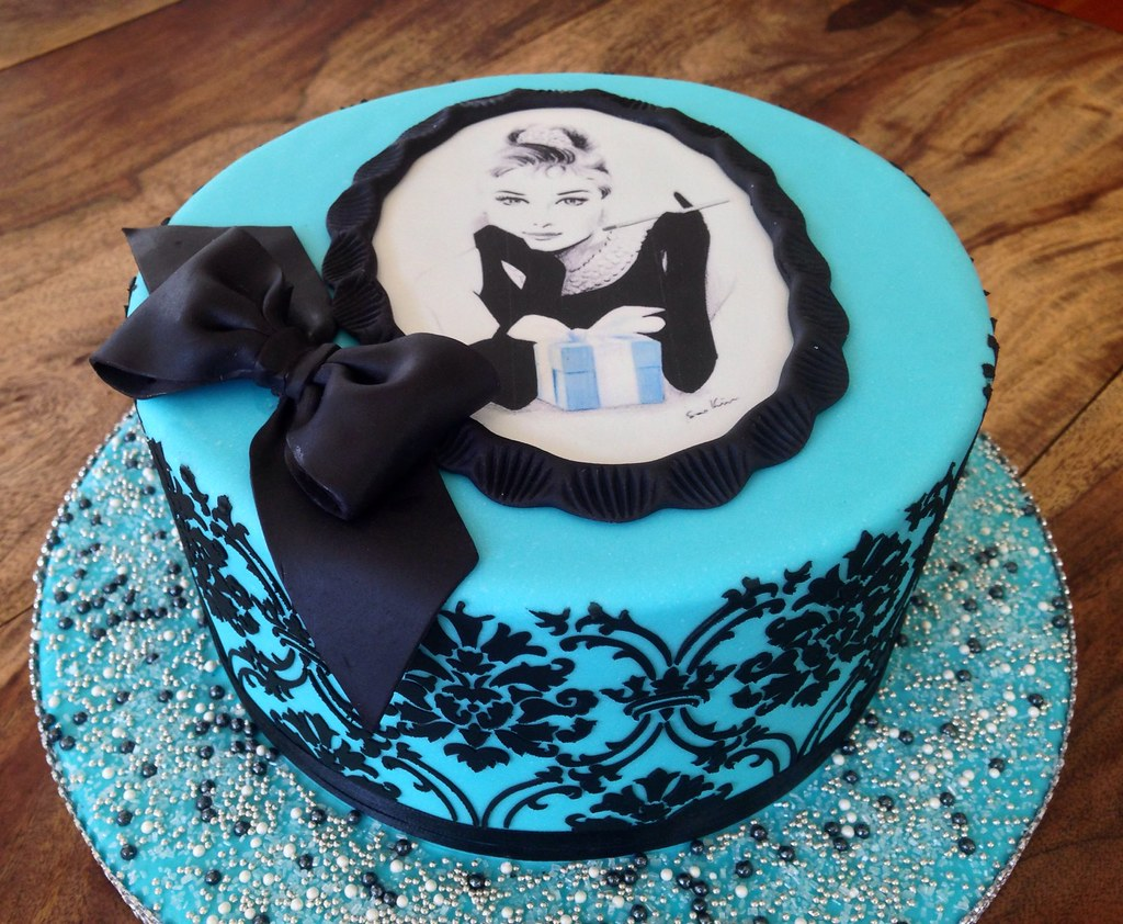 Breakfast At Tiffanys Cake Valerie Flickr