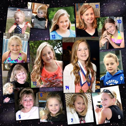 Happy Birthday Kirsten Collage 05-26-14