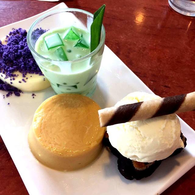 Max's dessert sampler