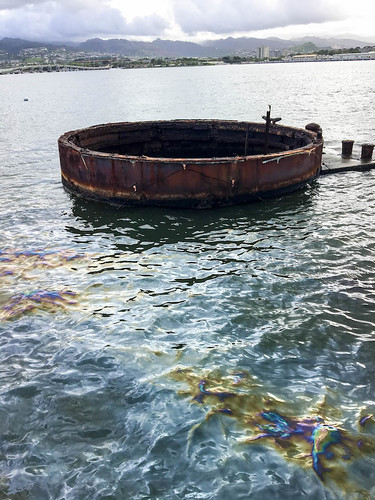 The USS Arizona is Still Leaking Oil