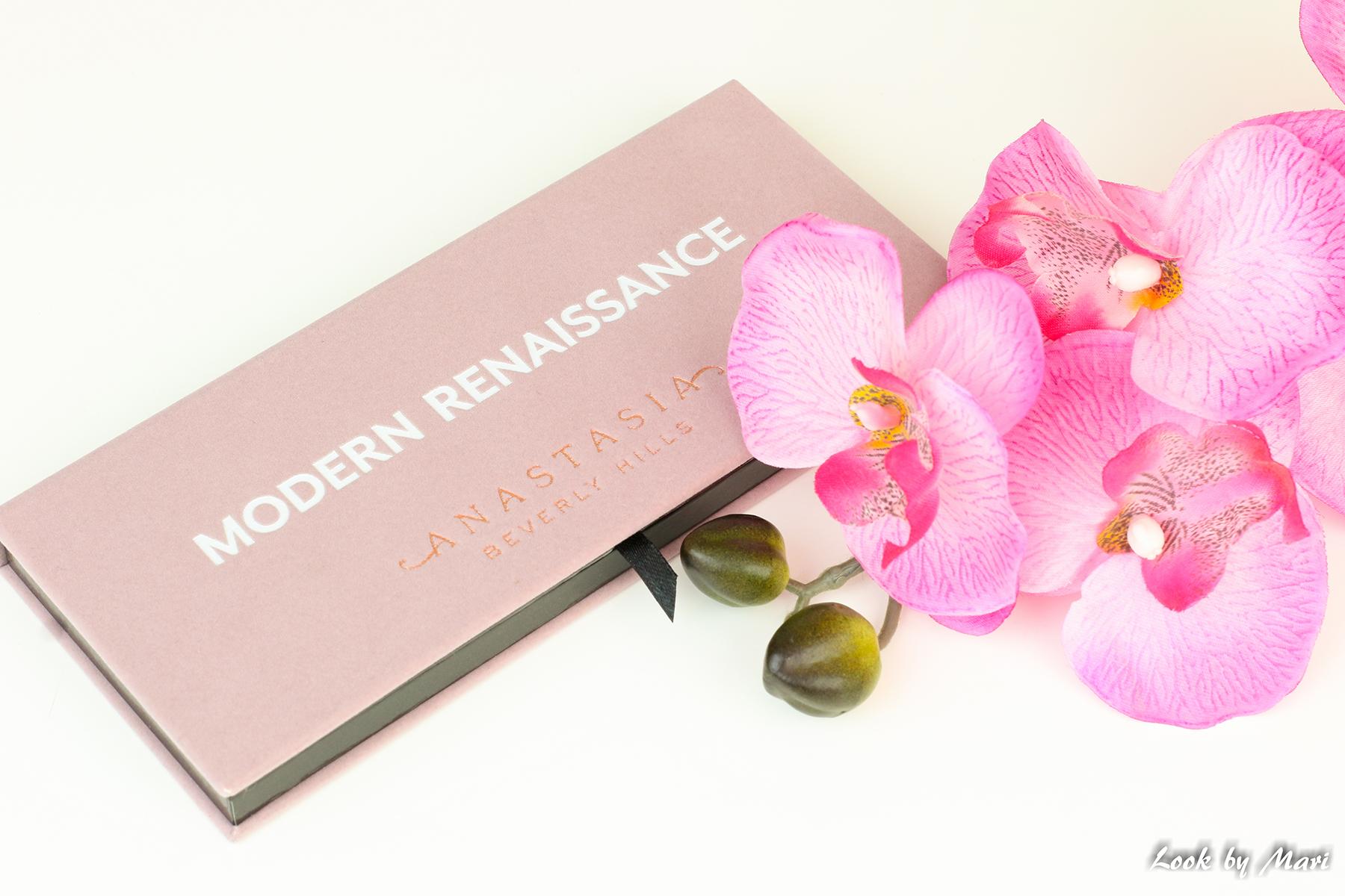 2 ANASTASIA BEVERLY HILLS modern renaissance palette review