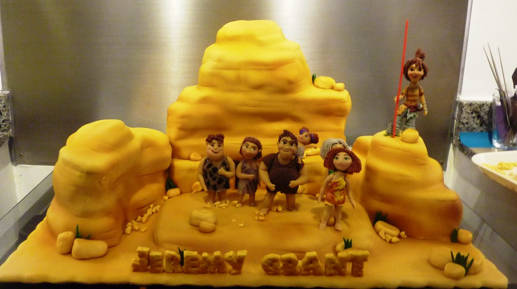 The Croods Cake Little Miss Ocs Kitchen Flickr
