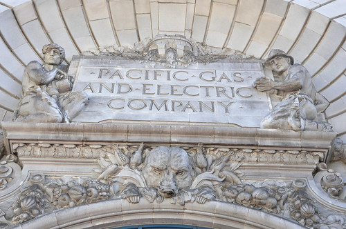 Pacific Gas and Electric Company Building Detail San Fran