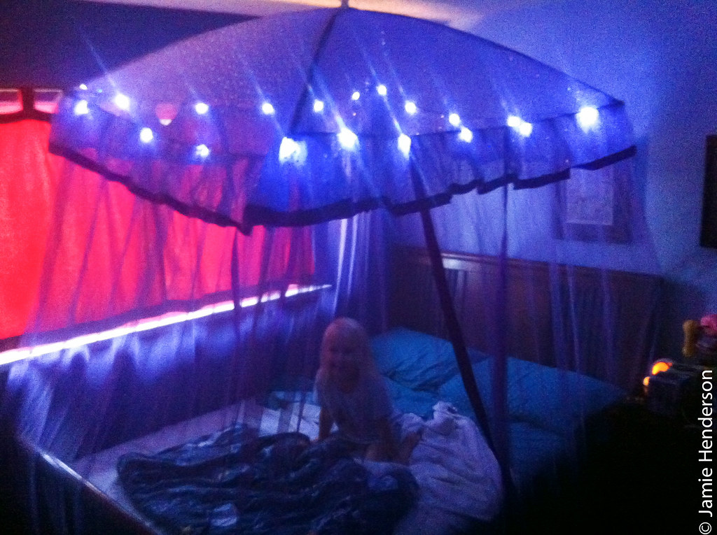 ... Light-Up Canopy Bed for Her Birthday   by blahness71 & Light-Up Canopy Bed for Her Birthday   For her