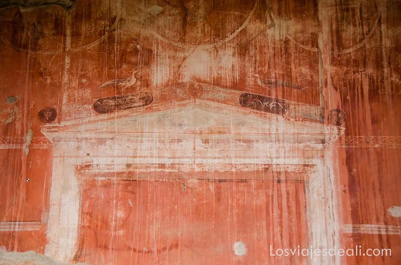 visita a Herculano mural