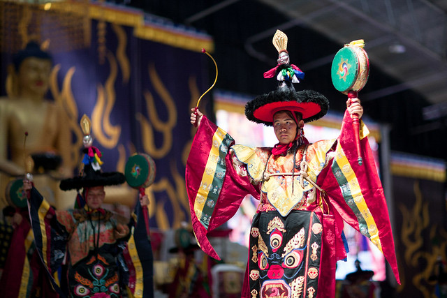 20170225_Torma Attack Procession&Cham&Concluding ritual