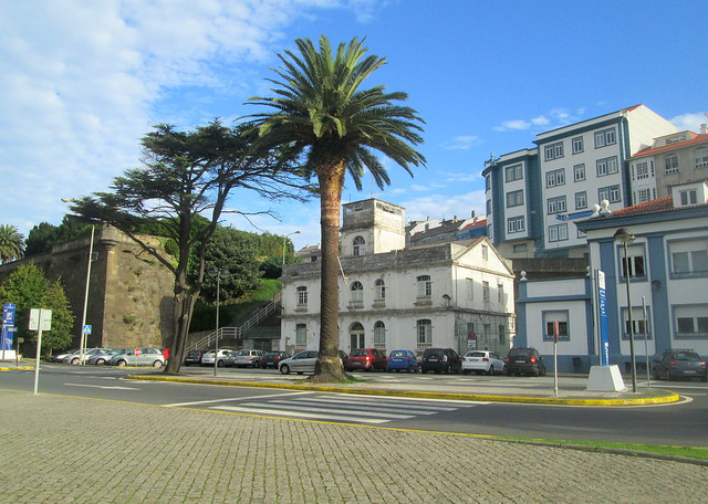 Older Fortification and Newer Buildings, Ferrol